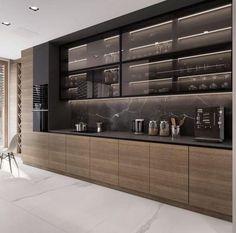 Luxury Kitchen Design, Kitchen Room Design, Kitchen Cabinet Design, Luxury Kitchens, Home Decor Kitchen, Interior Design Kitchen, Kitchen Furniture, Furniture Stores, Furniture Outlet