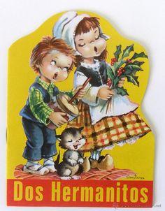 Dos hermanitos. Cuento infantil troquelado Serie Feliz nº 11 - Foto 1