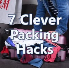 7 Packing hacks to make your life easier #baby#babystuff#babyproducts#