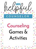 Printable counseling games and activities that are effective and engaging for students.