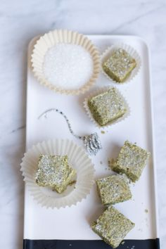 Matcha Green Tea Shortbread Cookies | http://saltandwind.com