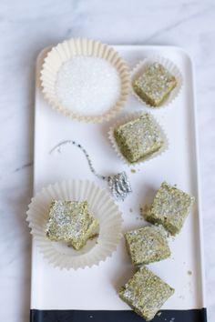 Matcha Green Tea Shortbread Cookies | http://saltandwind.com