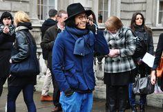 TOMMY TON'S Men's Street Style: LONDON FASHION WEEK