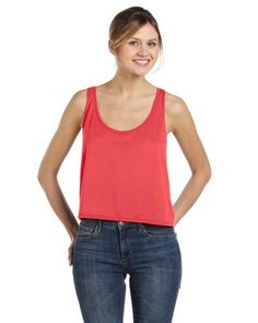 Another boxy crop top by Bella. This one covers the belly a little more. Not sure I like this one as much as the other one. $6.59 wholesale.
