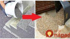 Zabudnite na dlaždice alebo zámkovú dlažbu: Toto vám celkom premení vašu terasu, schodisko, alebo podlahu v dome!