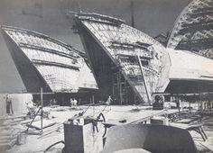 Sydney Opera House, March 1966 / Jorn Utzon