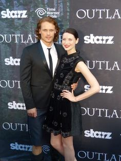 SDCC 2014 / Outlander / Jamie and Claire