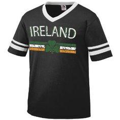 Ireland Crest International Soccer Ringer T-shirt, Irish Soccer Mens Ringer T-shirt (Apparel)  http://macaronflavors.com/amazonimage.php?p=B003QCP5G8  B003QCP5G8