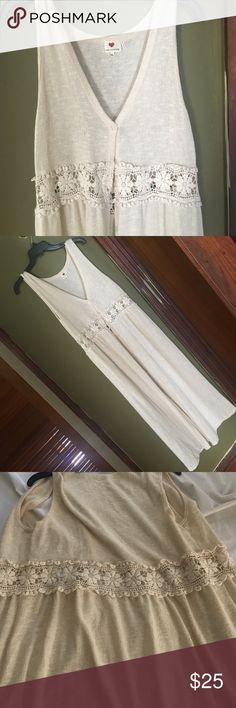 Spotted while shopping on Poshmark: Long Boho Lace Cardigan! #poshmark #fashion #shopping #style #Free People #Sweaters