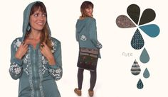 Cute Embroided Hoody- Almost Autumn: Soul Flower Early Fall 2014 Look Book