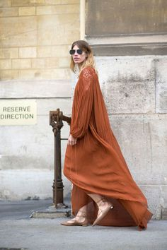 Brown Chloe Dress