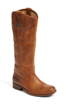 'Melissa Button' Leather Riding Boot (Extended Calf) on sale for $246.90 for the #NSALE