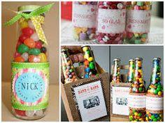 Resultado de imagen para botellas rellenas de dulces