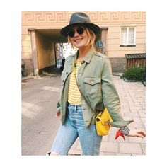 "139 likerklikk, 1 kommentarer – SECOND FEMALE (@secondfemale) på Instagram: ""Yellow Stripes #cool #looking @josefindahlberg.se #wearing #CopaLs #tee #highsummer @secondfemale"""