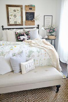 Spring Guest Bedroom -
