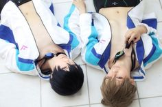 the accuracy... Free! cosplay Haru and Makoto