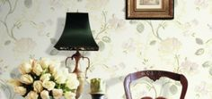 Extensive range of high quality floral and flower designer wallpaper in contemporary, modern and retro designs. Cheap Wallpaper, Wallpaper Online, Pvc Wall, Oil Painting On Canvas, Oil Paintings, Wall Patterns, Designer Wallpaper, Country Style, Blue Yellow