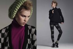 // KNITTY REPERTOIRE // Photographer: Agata Stoinska / Stylist: Tanya Grimson /  Model: Eve Connoly /  Hair Stylist; Joe Hayes /  Make-up: Hayley Mia McGowan //  AS SEEN ON  http://www.maven46.com/editori…/knitty-repertoire/editorial/