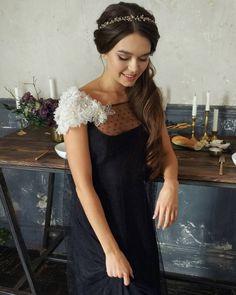Макияж и прическа для Томы:) #невеста #свадьба #локоны #хвост... #wedding #weddings