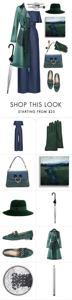 """Misty"" by ms-wednesday-addams ❤ liked on Polyvore featuring WithChic, Forzieri, J.W. Anderson, Ballard Designs, Maison Michel, Fulton, Carla G., MAC Cosmetics, Laura Mercier and Trish McEvoy"