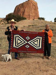 Navajo Weaving : Navajo Womans Manta                                                                                                                                                     More