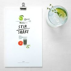 A calendar for the cocktail sipper.