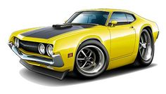 Cartoon Classic Cars | 625189443_o.jpg