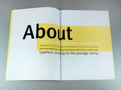 FF Meta – typeface promotion by Paulina Urbańska, via Behance
