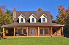 Danby Timber Frame Home