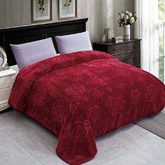 Living Colors Red Black Plaid Plush Velvet Throw Blanket extra long 48x72 NWT