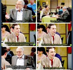 Sheldon meets James Earl Jones