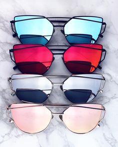 Dior Eyeglasses for sale Stylish Sunglasses, Cat Eye Sunglasses, Mirrored Sunglasses, Sunglasses Women, Fake Glasses, Glasses Frames, Dior Eyeglasses, Cat Eye Colors, Fashion Eye Glasses