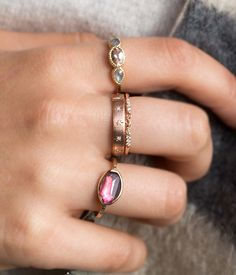 Morganite Iris Ring - Audry Rose