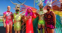Gay Pride de Sitges, à côté de Barcelone