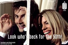 Its official, Rose and 10 are back for the 50th!
