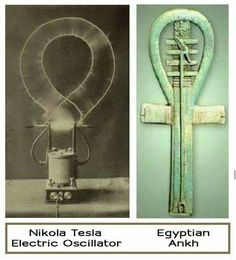 Tesla's electric generator and ankh                                                                                                                                                                                 More
