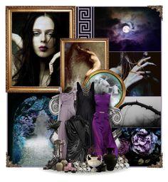 """Greek Mythology: Melinoe"" by anna-nemesis ❤ liked on Polyvore featuring art"