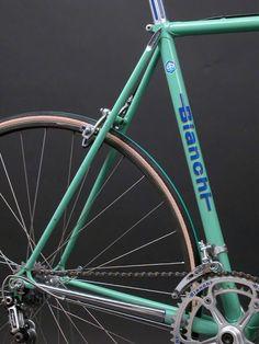 Vintage Racing Bicycles: 1981 Bianchi Super Leggera