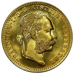 1915 Austria 1 Ducat Gold Coin - Mint State at Amazon's Collectible Coins Store