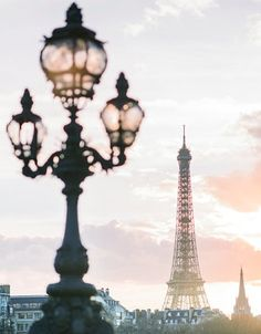 Pont Alexandre III is one of the best places to view the sunset in Paris.