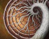 "Medusa's Garden (Afterlife).  Ltd Edition 30"" Print"