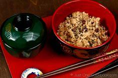Sekihan (Azuki Beans & Rice) | Easy Japanese Recipe Just One Cookbook
