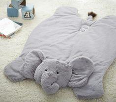 Elephant Plush Play Mat | Pottery Barn Kids