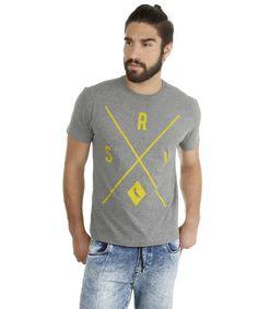 e8b0b0aa9f Camiseta Reserva Cinza Mescla - RESERVA para C A Peixe Gato