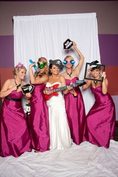 Photobooths are so fun!.... It is a must in my wedding :)