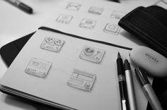 Icon Design by Nick Kumbari: http://www.playmagazine.info/icon-design-by-nick-kumbari/