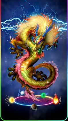 Dragon Tattoo Art, Dragons Tattoo, Dragon Tattoo For Women, Chinese Dragon Tattoos, Dragon Artwork, Dragon Tattoo Designs, Gold Dragon Wallpaper, Dragon Wallpaper Iphone, Animal Wallpaper