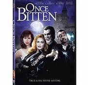 Once Bitten (1985). [PG-13] 94 mins. Starring: Lauren Hutton, Jim Carrey, Cleavon Little, Karen Kopins and Megan Mullally