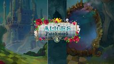 Alice's Patchwork 2 Gameplay New Puzzle, Puzzle Games, Humpty Dumpty, Pc Game, Red Queen, Mosaics, Rabbit, Alice, Meet