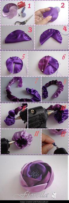 rose brooch...♥ Deniz ♥: